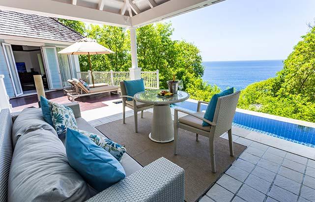 Ocean View Pool Villa - Terrace