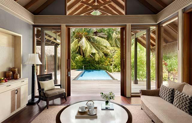 Deluxe Pool Villa - Living Room