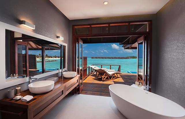 Water Villa with Pool - Bathroom
