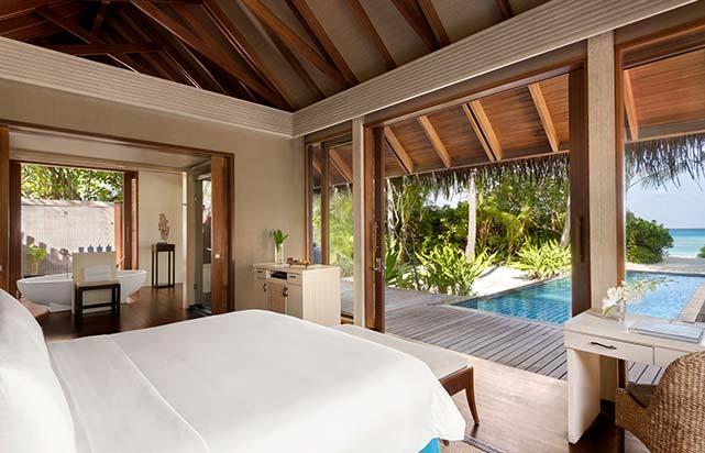 Beach Villa - Bedroom