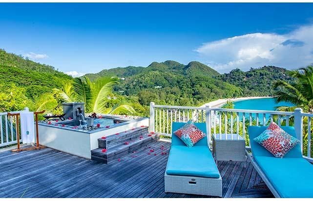Intendance Bay Pool Villa - Deck