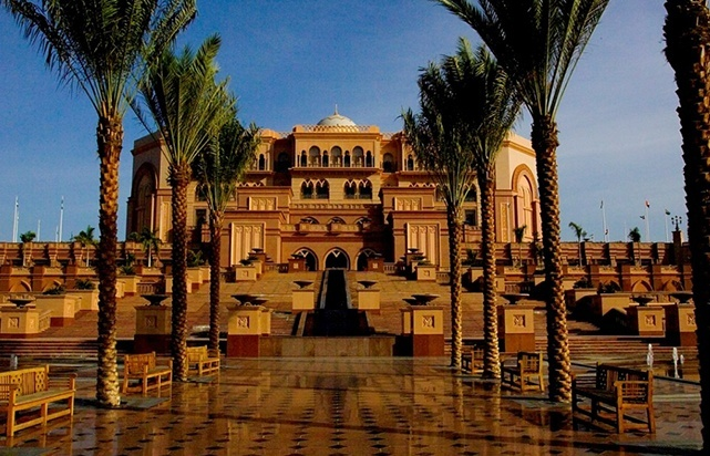 Emirates Palace Front Area