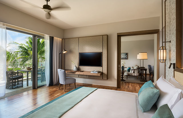 Garden View Suite - Bedroom