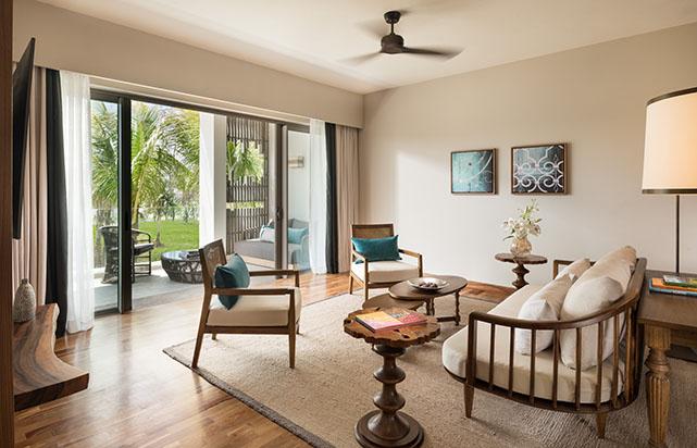 Garden View Suite - Living Room
