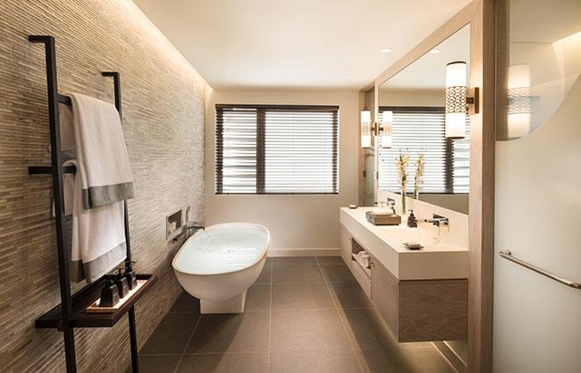 Deluxe Garden View - Bathroom