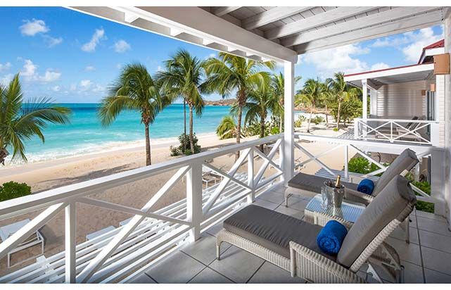 Premium Beachfront Balcony