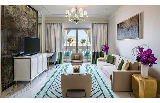 One Bedroom Family Suite Livingroom
