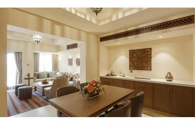 Livingroom in Two Bedroom Suite