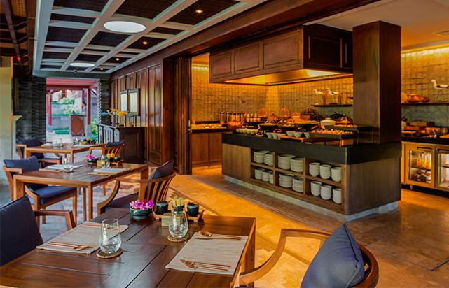 Breakfast at Sawah Terrace