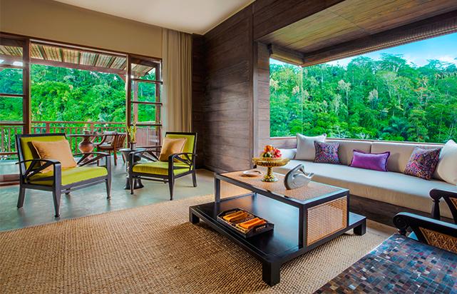 Mandapa Suite living room