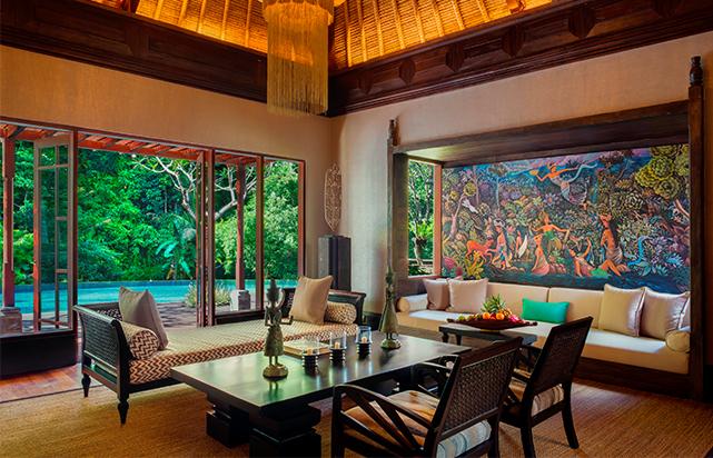 Two Bedroom Villa Living Room