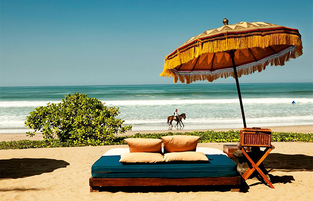 Day Bed by the Beach