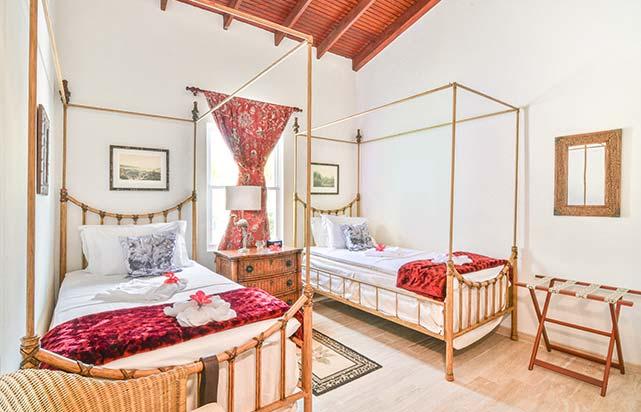 Palm Villa - Twin Bedroom