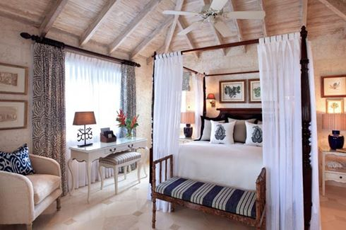 Coral Reef Club - Luxury Plantation Suite Bedroom