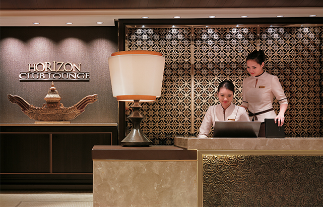 Horizon Club Lounge Entrance