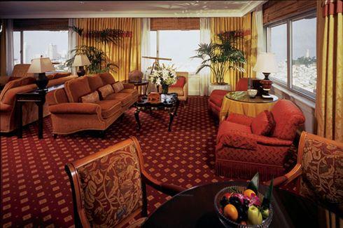 Fairmont Suite Living Room