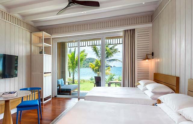 Beachside Double Queen Room