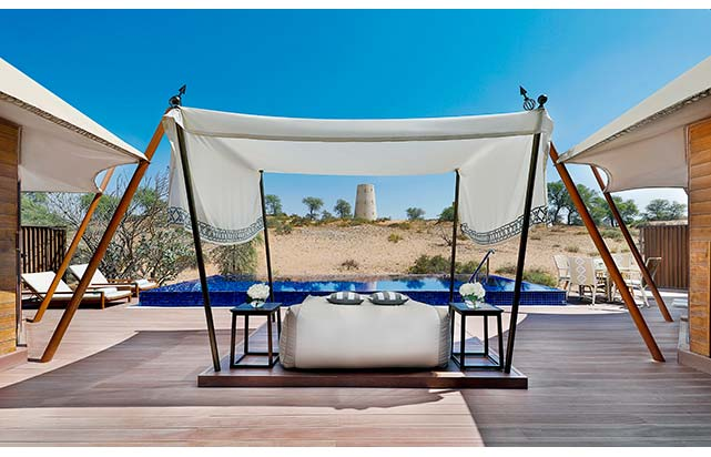 Al Khaimah Tented Pool Villa - Outdoor