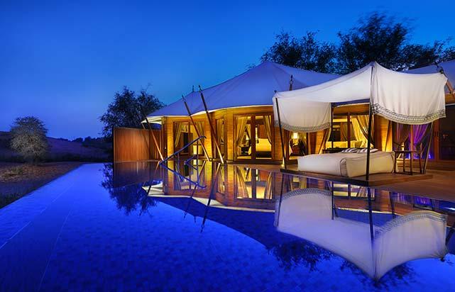 Al Rimal Pool Villa - Exterior