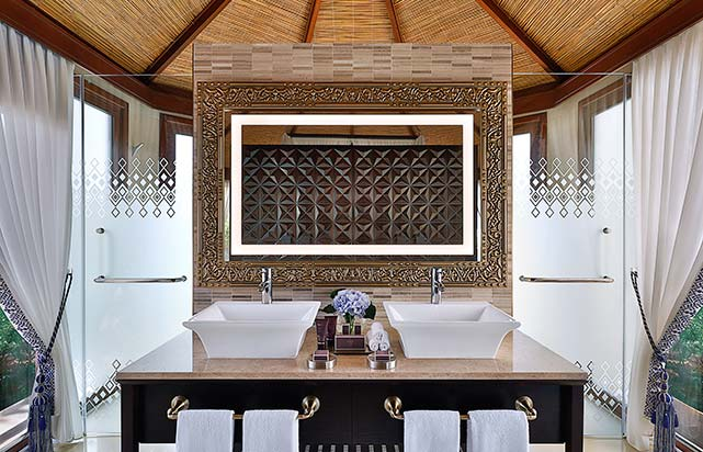 Al Bahar tented Beach Pool Villa - Bathroom