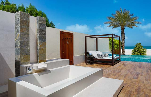 Al Naseem Tented Beach Pool Villa