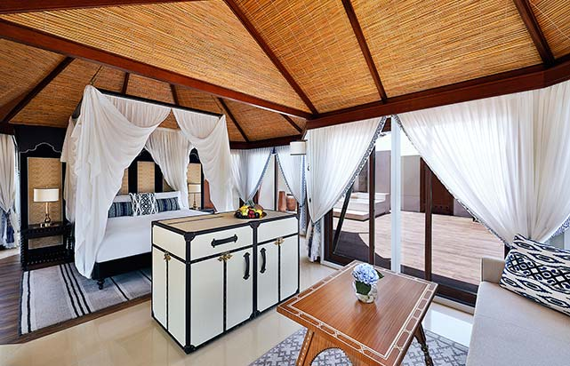 Al Naseem Tented Beach Pool Villa - Bedroom