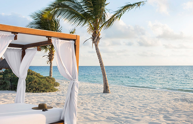 Excellence Club Beach Lounge Beds