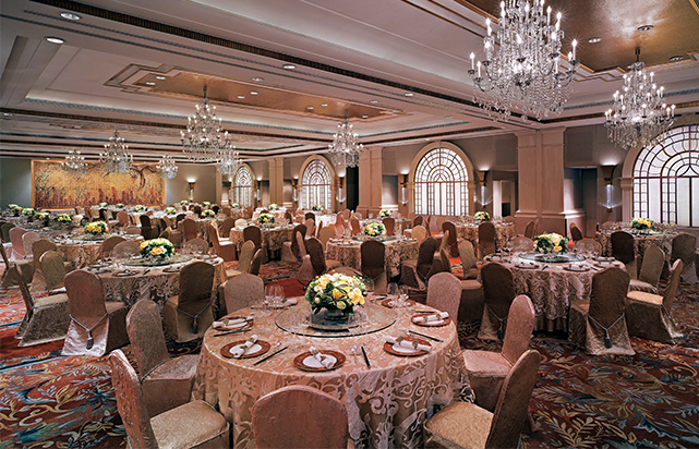Grand Ballroom- Banquet Set Up