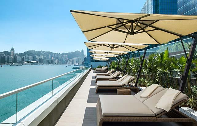 Pool Deck Terrace