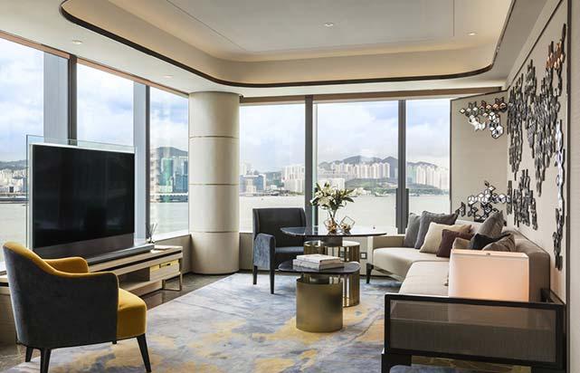 Victoria Harbour Suite - Living