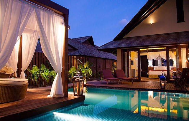 Beach Villa Pool Terrace