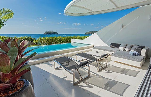 Outdoor Terrace Oceanview