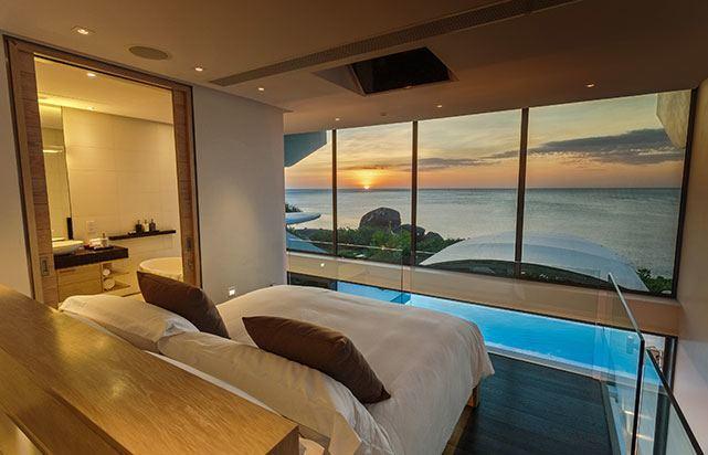 Sunset Master Bedroom Oceanview