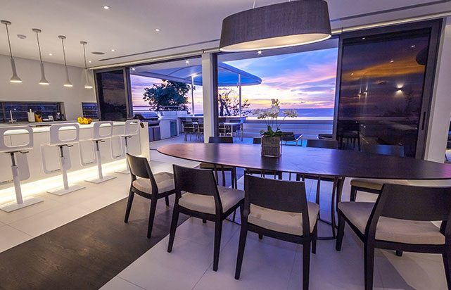 Sunset Dining Room Oceanview