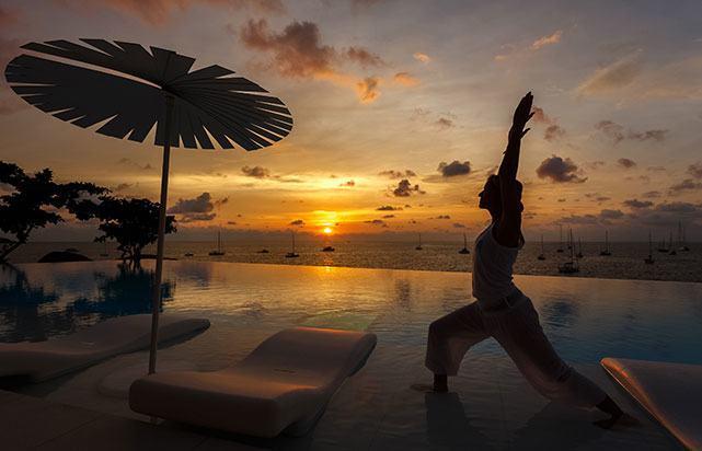 Sunset Yoga Oceanview