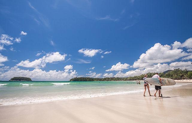 Kata Beach Sunnyday Surfers