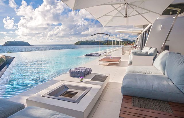 Pool Restaurant Day Oceanview