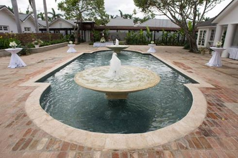 Fern Tree Spa Courtyard