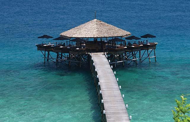 Mandi Mandi Restaurant from Top View