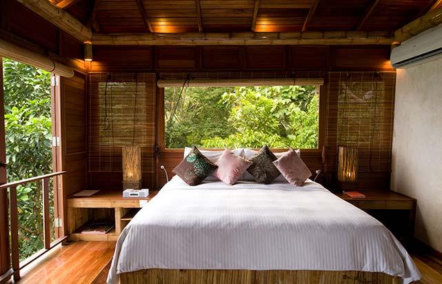 Treetop Chalets Bedroom