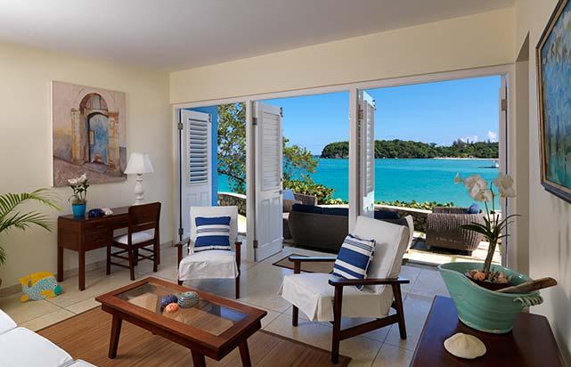 Beach Bungalow - Living Room