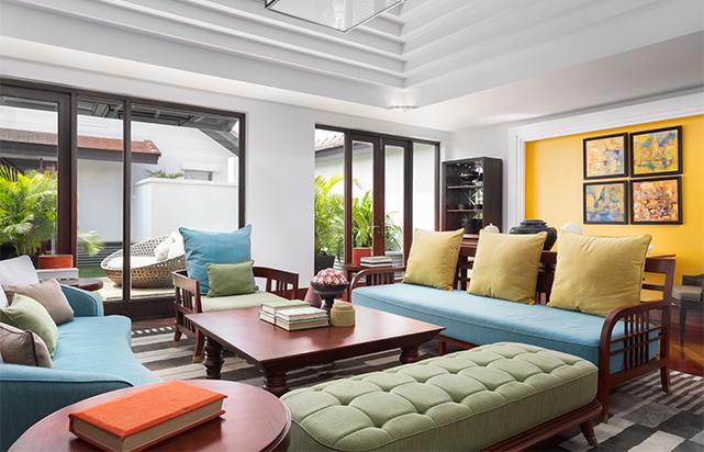 Rooftop Garden Suite Living Room