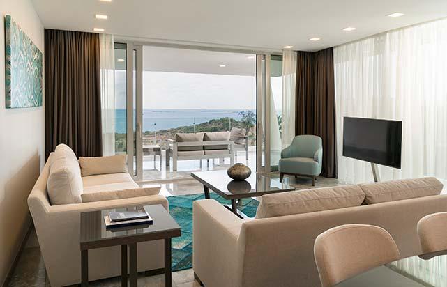 Three Bedroom Terrace Residence - Living Room