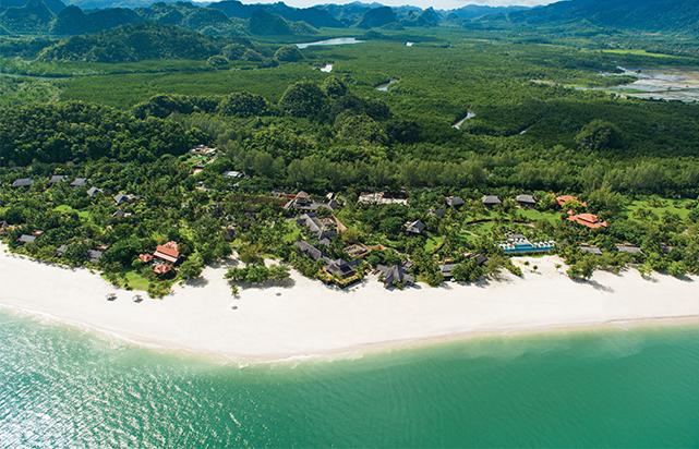 Aerial View Resort