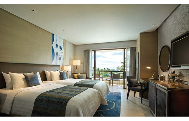 Deluxe Seaview Room - Twin