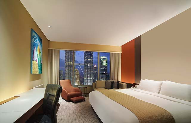 Deluxe Twin Towers room