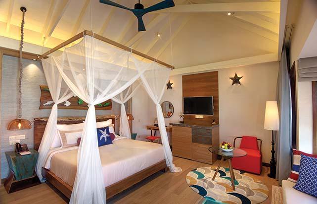Water Pool Villa - Bedroom