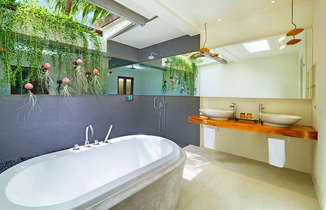 Wonderful Beach Oasis Bathroom