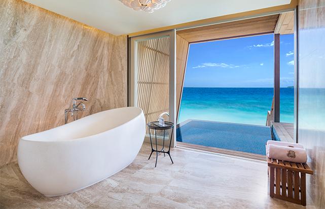 Coastal Villa Bathroom