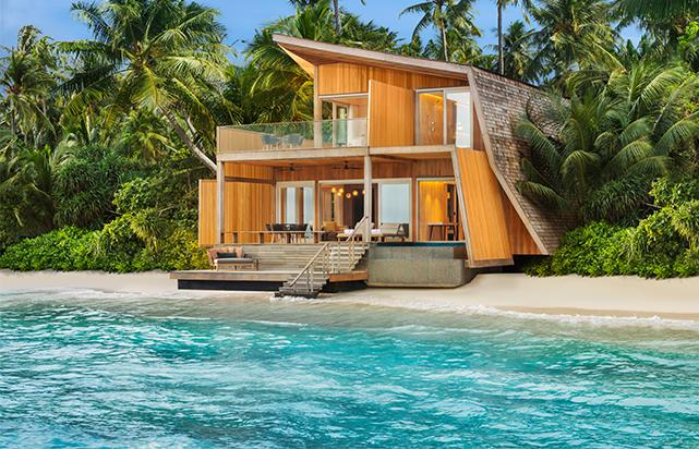 Coastal Villa Exterior